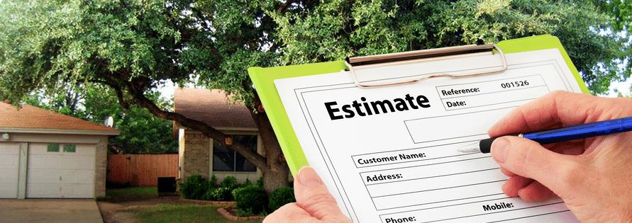 tree service estimate